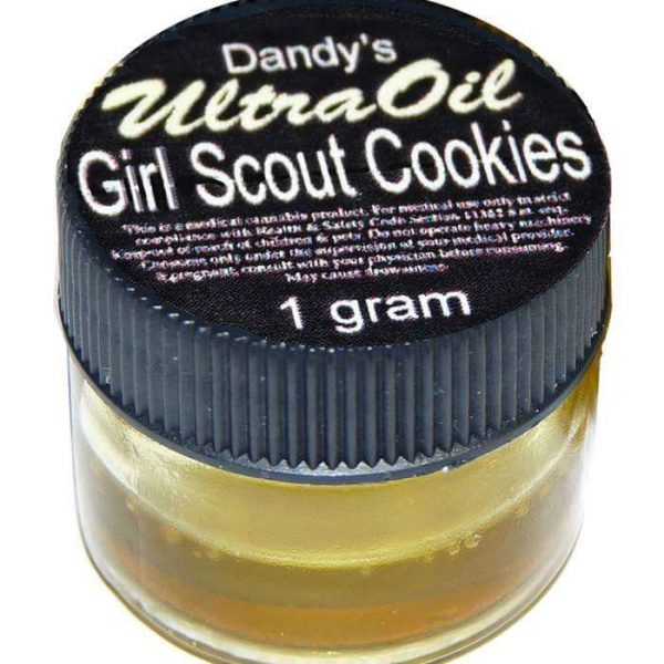 Girl Scout Cookies Cannabis Oil